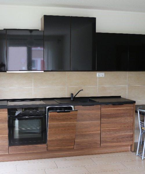 Ferienwohnung Alexander in Hohe Düne Küche mit Essbereich