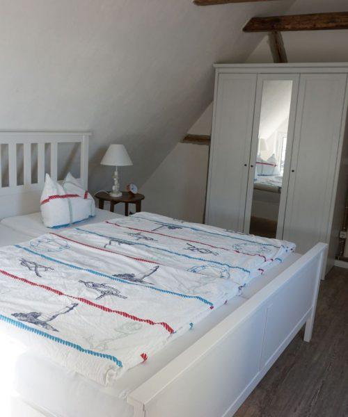 Ferienwohnung Madlen in Warnemünde Schlafzimmer