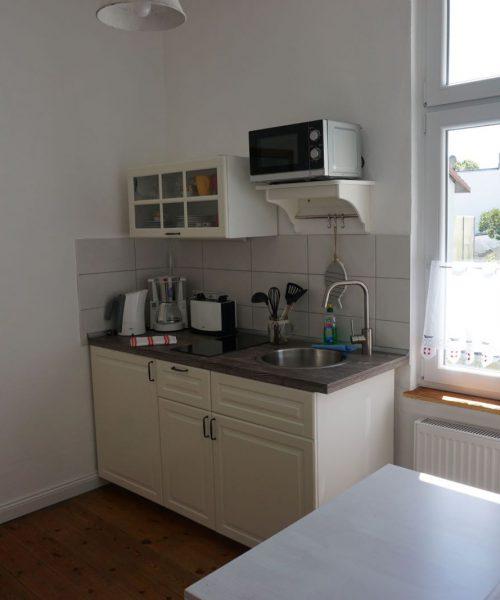 Ferienwohnung Madlen in Warnemünde Küche Ansicht 2