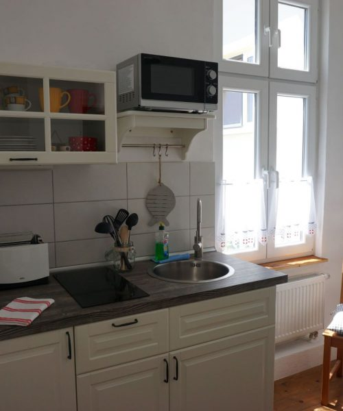 Ferienwohnung Madlen in Warnemünde Küche Ansicht 1