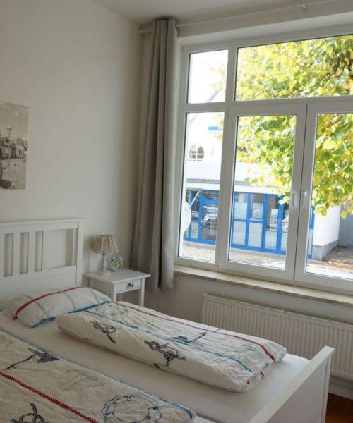 Ferienwohnung Tamo in Warnemünde Schlafzimmer Ansicht 1