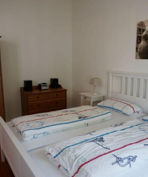 Ferienwohnung Tamo in Warnemünde Schlafzimmer Ansicht 2