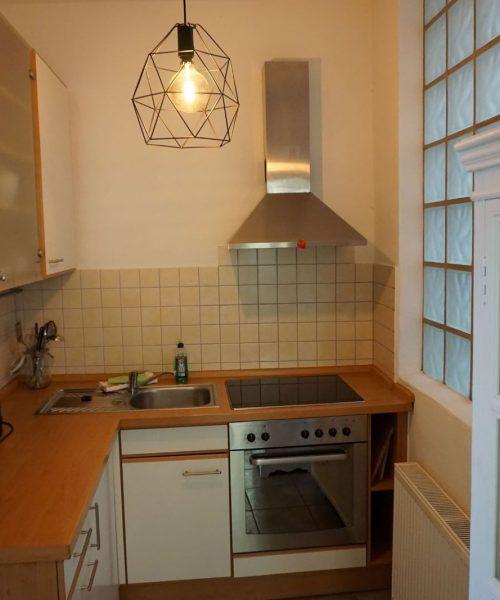 Ferienwohnung Tamo in Warnemünde Küche