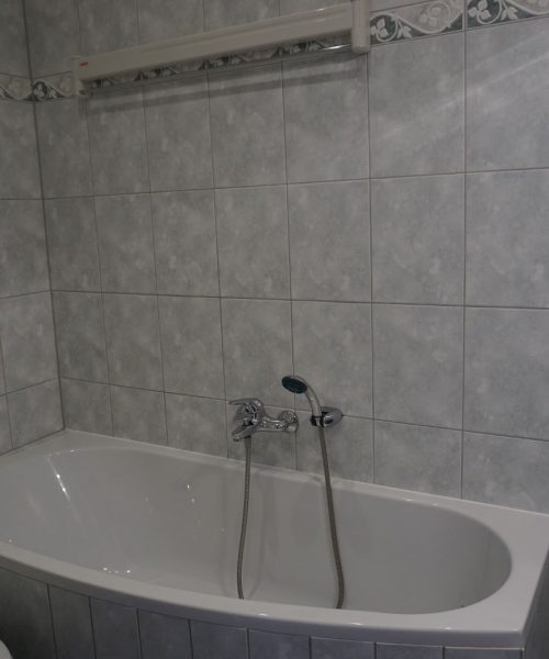 Ferienwohnung Tamo in Warnemünde Badezimmer